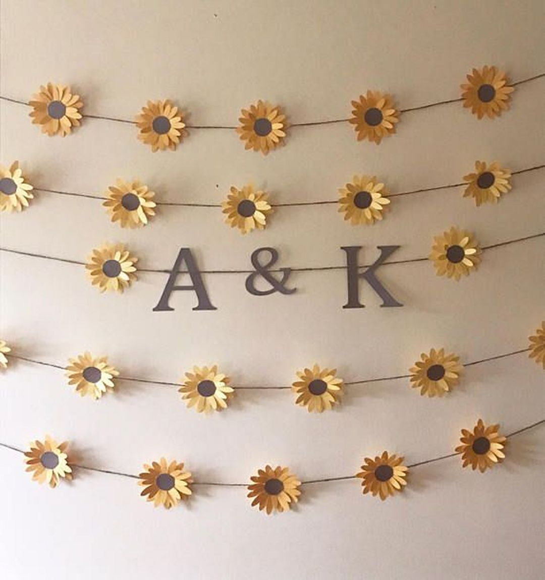Lovely 9 Diy Sunflower Bedroom Decoration Ideas Sunflower Room