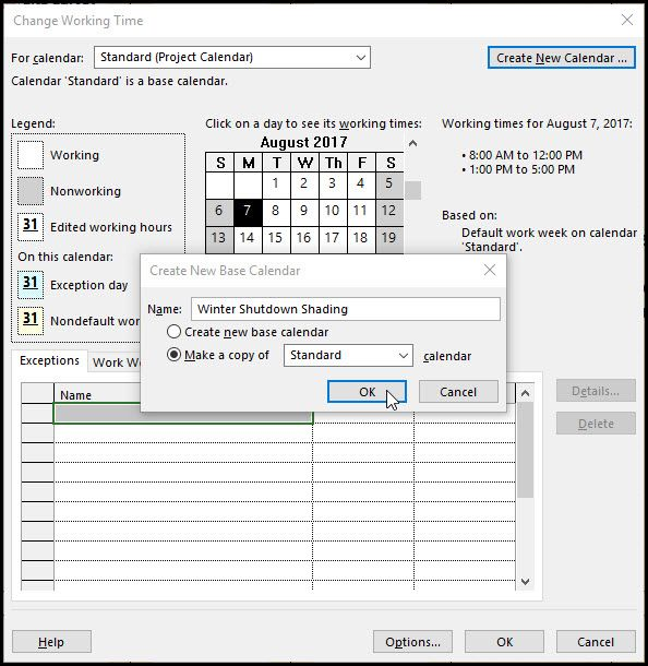 microsoft project and shading gantt chart time periods microsoft