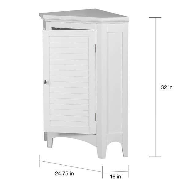 Overstock Com Online Shopping Bedding Furniture Electronics Jewelry Clothing More Elegant Home Fashions Corner Storage Cabinet Bathroom Standing Cabinet