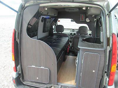 2005 renault kangoo mini micro single berth camper mpv campervan no swap px. Black Bedroom Furniture Sets. Home Design Ideas