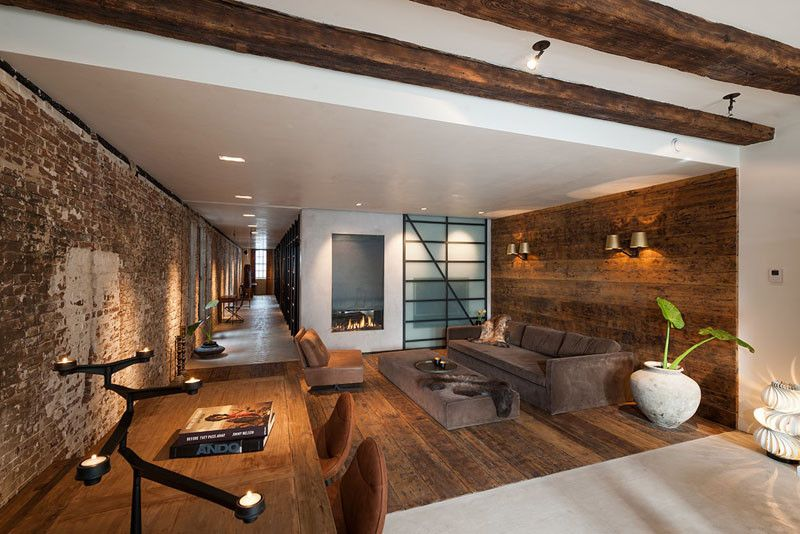 family home office. office space in amsterdam converted into industrialstyle family home httpfeedproxy