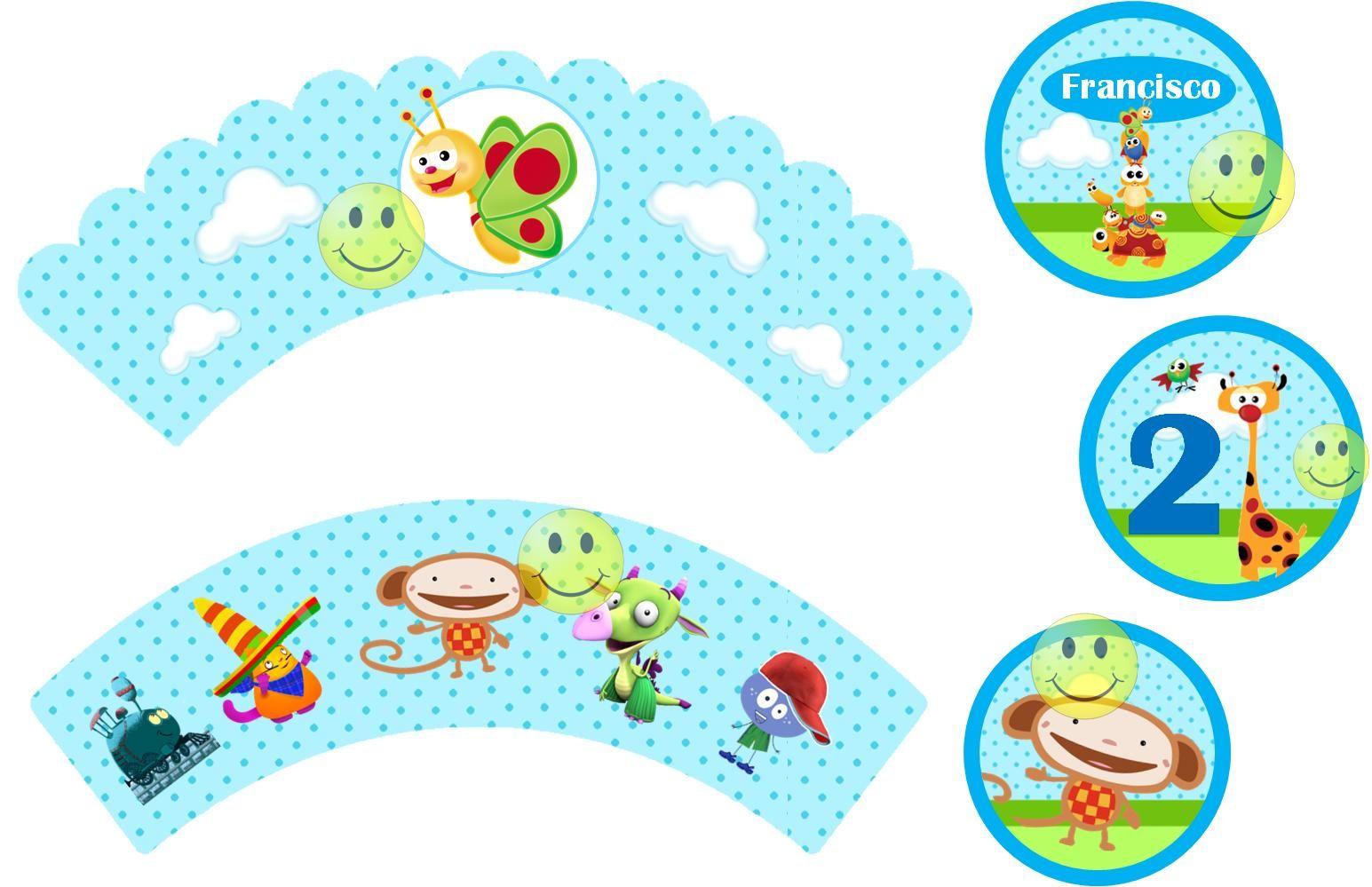 Tarjetas De Cumpleaños Baby Tv Para Imprimir En Hd 21 en HD Gratis cumple Juan Pinterest