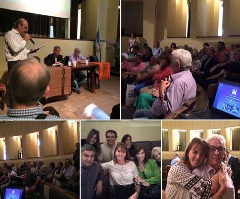 """Hoy en la entrega del reconocimiento """"Hacedores del Patrimonio Cultural"""" a nuestro autor Juan Carlos Pallarols."""