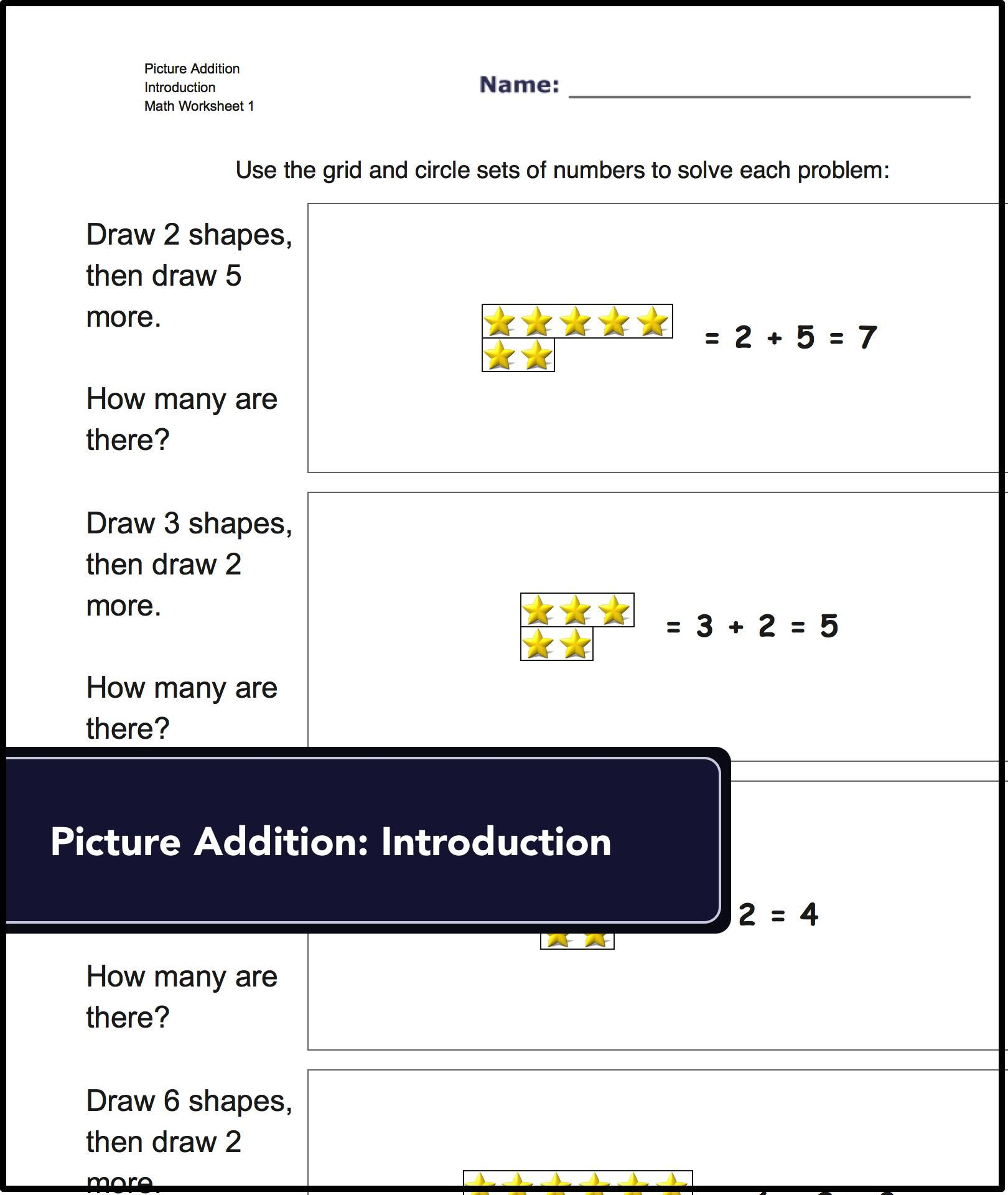 Check out this collection of kindergarten math worksheets! It\'s ...
