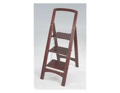 Awe Inspiring Cosco Rockford 3 Step Wood Step Stool 11255Mgy1 Products Inzonedesignstudio Interior Chair Design Inzonedesignstudiocom