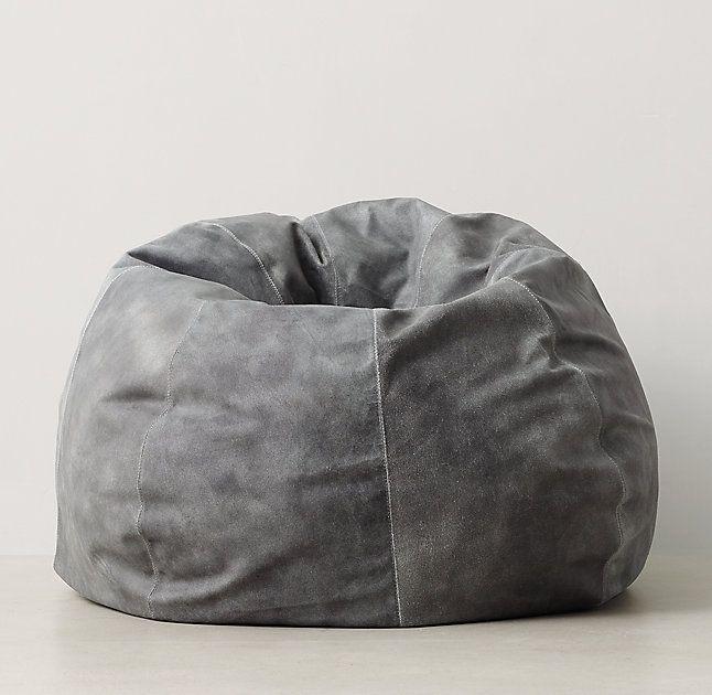 Oversized Leather Bean Bag Bean Bag Chair Modern Bean Bag Chairs Leather Bean Bag Chair