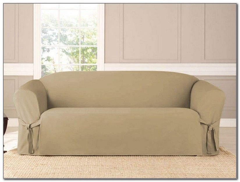 Microsuede Sofa Slipcover
