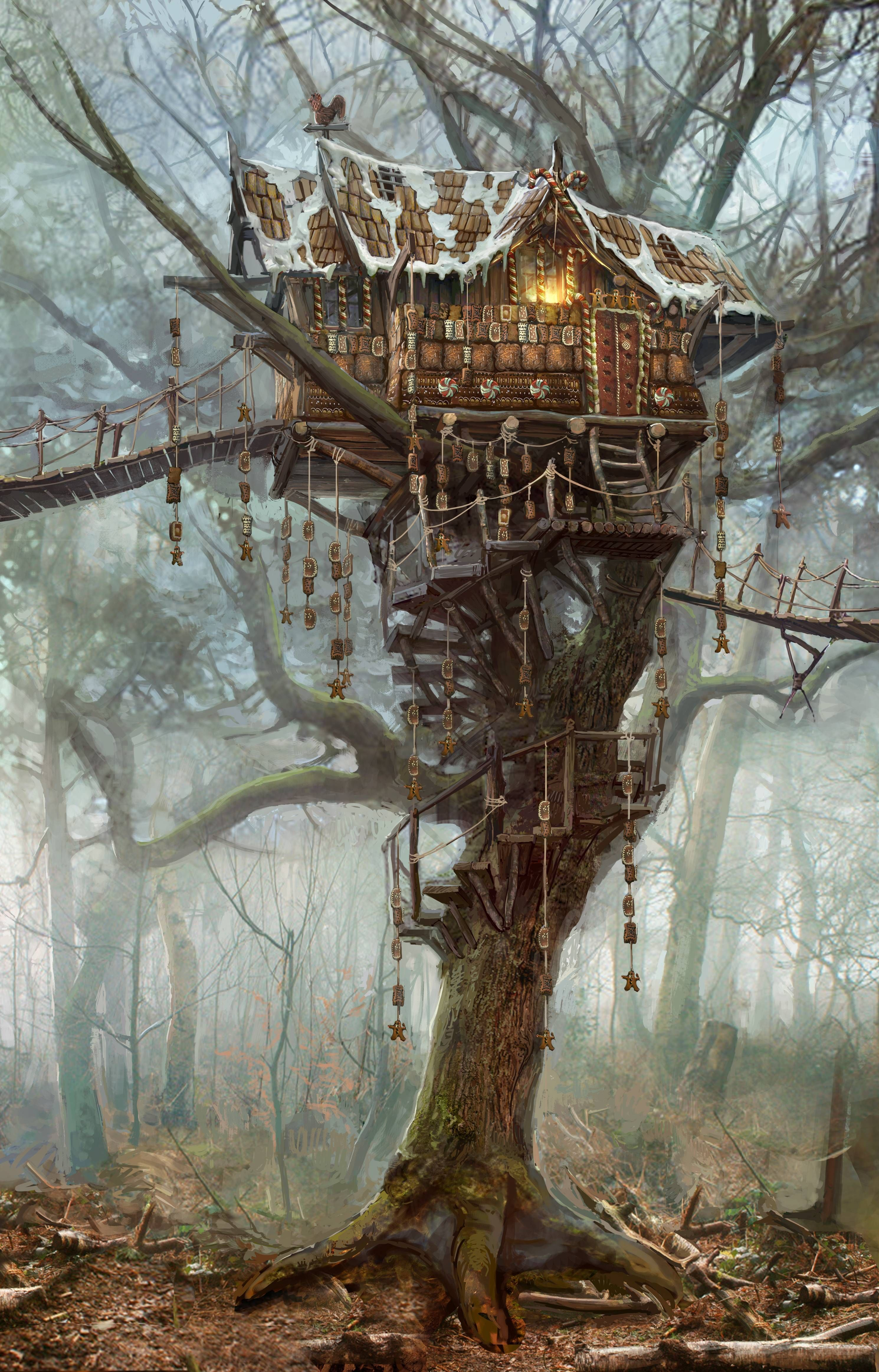 Gingerbread house -- New Witcher 3 Screens and Concept Art - Imgur