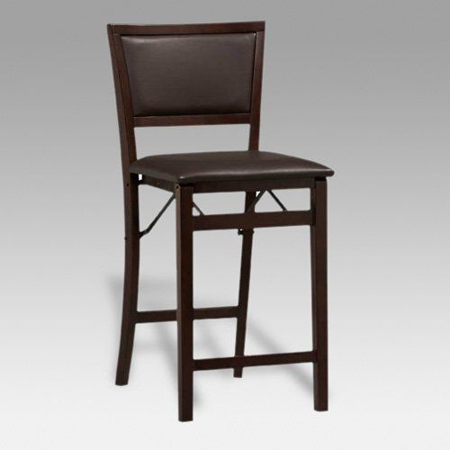 24 Inch Folding Chairs.Linon 24 Inch Weston Pad Back Folding Counter Stool From