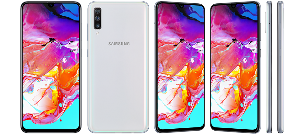 Samsung Galaxy A70 White - Samsung, Latest smartphones, All smartphones