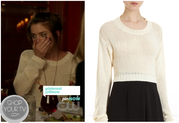 Shop Your Tv: 90210: Season 5 Episode 4 Silver's White Knit ...