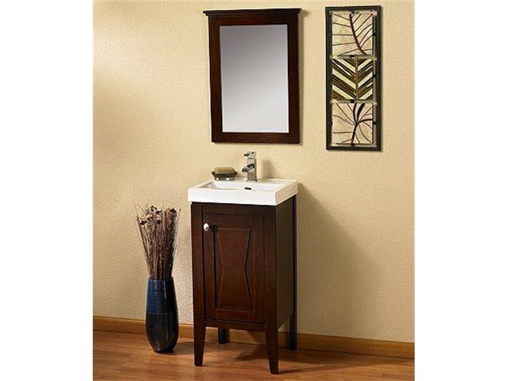 18 Inch Wide Bathroom Vanity Cabinet With Images Bathroom