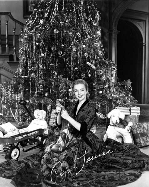 beautiful tree....Piper Laurie- c.1954