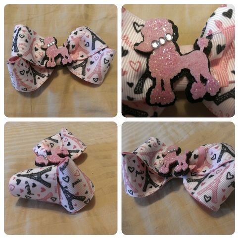 Paris Bow By Girls Will Be Girls Boutique Girls Boutique Bows