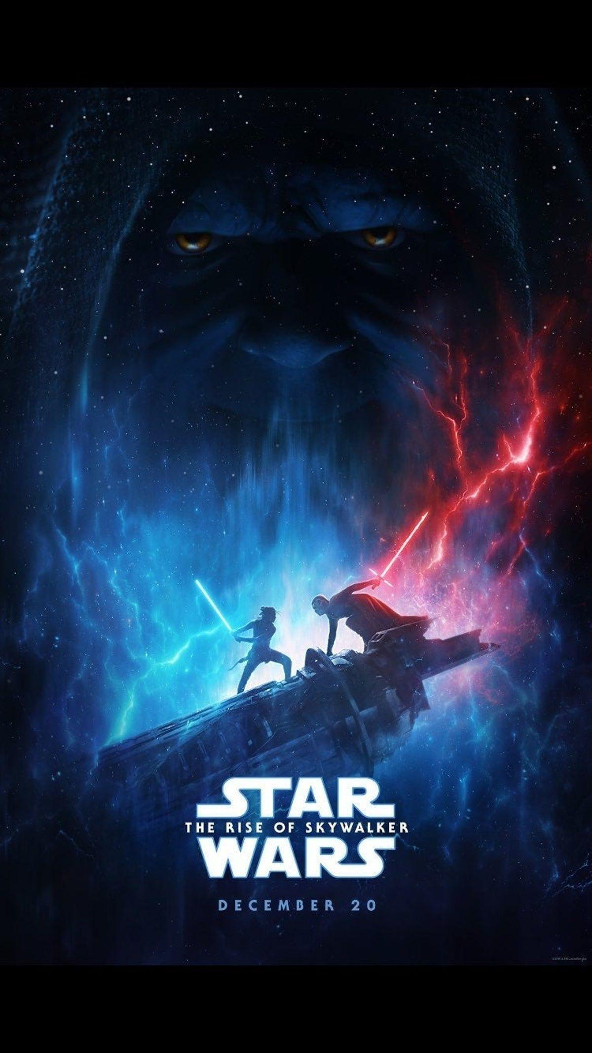 D23 Rise Of Skywalker Movie Poster In 2020 Star Wars Wallpaper Iphone Star Wars Poster Star Wars Images