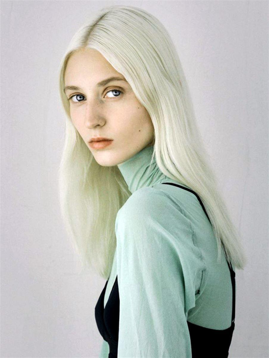 Name Luisa Moek From Germany Hair Platinum Blonde Eyes Blue