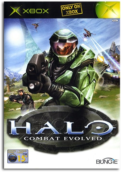 Halo Combat Evolved 1 Poster Xbox Game Cover Artwork Picture Print A2 A3 A4 A6
