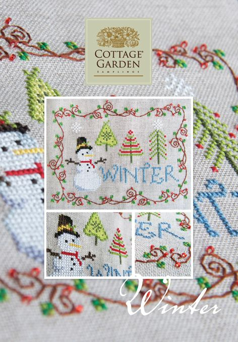 Cottage Garden Samplings: Winter