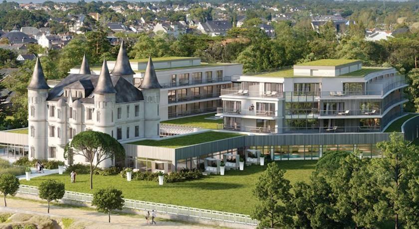 Chateau Des Tourelles Spa Pornichet Pornichet La Baule Escoublac Tourelle