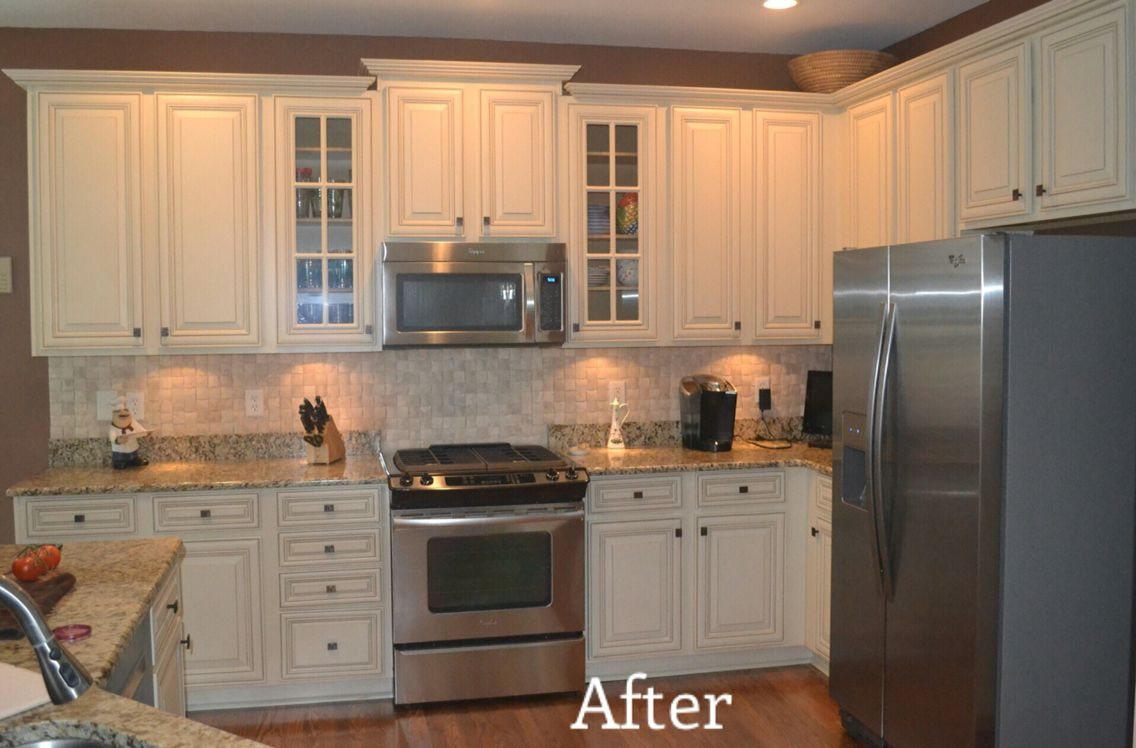 Anderson after | Kitchen cabinets, Home decor, Home