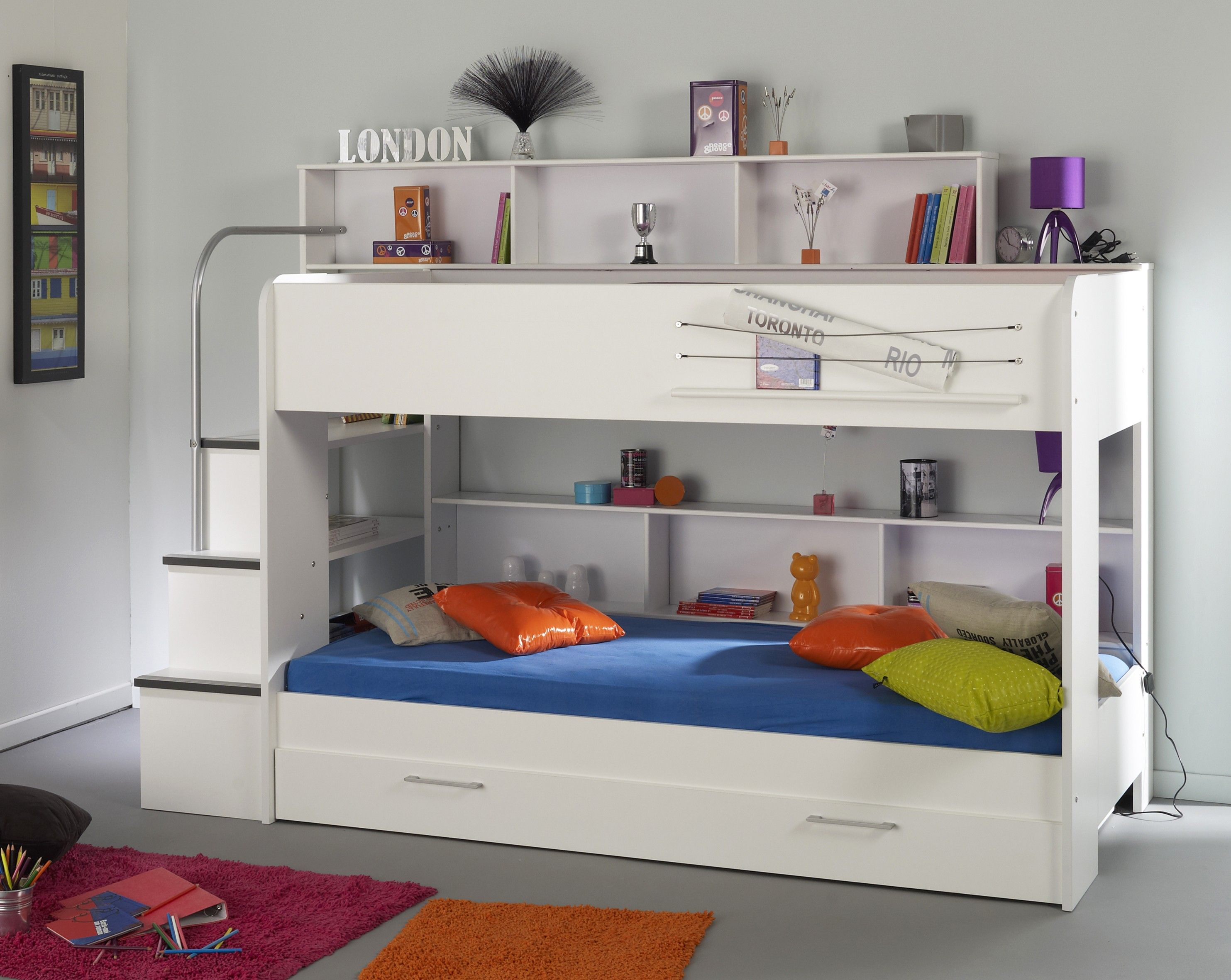 Parisot Kurt 2 Bunk Bed This Is Great For A Small Room Like Mine Buy It When Its On Sale In January It Can B