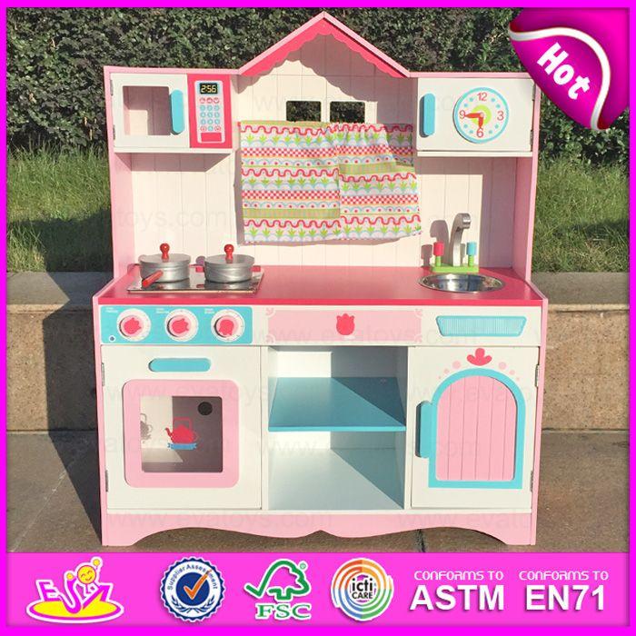 2015 Wood Toy Kitchen Set, Kids′ Wooden Toy Kitchen, Mini Wooden ...