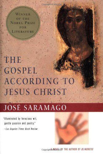 The Gospel According to Jesus Christ by Jose Saramago, http://www.amazon.com/dp/0156001411/ref=cm_sw_r_pi_dp_mCFHpb1BZM6X7