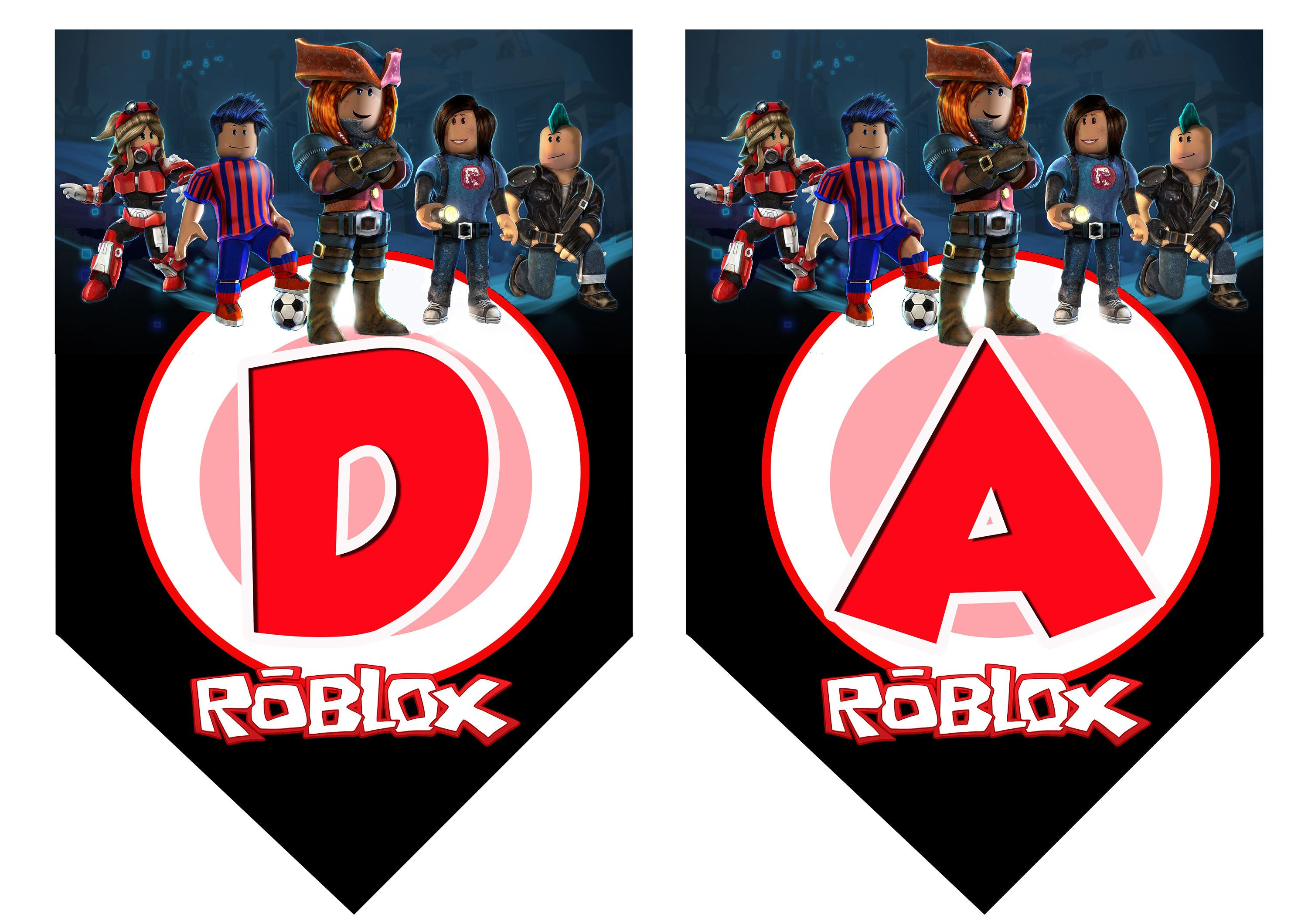 Roblox Letters Printable