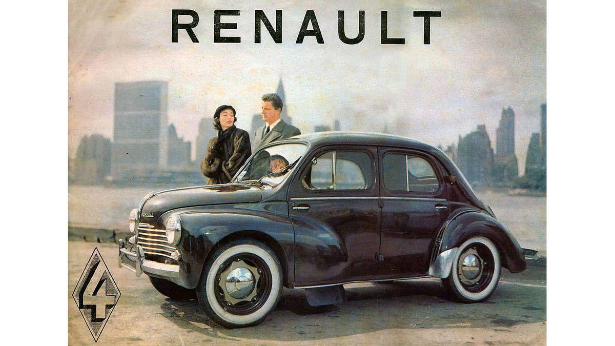 1954 Renault 4cv Gets This Beautiful Brochure In The Netherlands Autoweek Renault 4 Car Brochure Renault