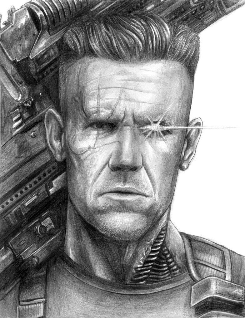 Cable Deadpool 2 By Soulstryder210 Desenhos Realistas