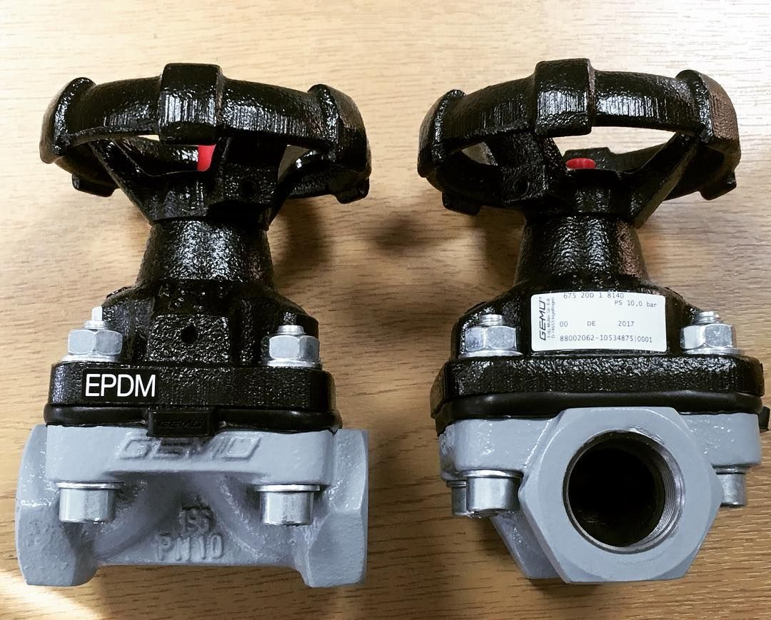 Gemu 675 diaphragm valve screwed bsp gemu 675 threaded industrial weir type diaphragm valve available online https ccuart Choice Image