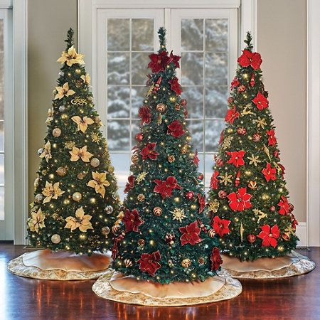 Pull-Up Christmas Trees! Decorating can't get any easier or faster ...