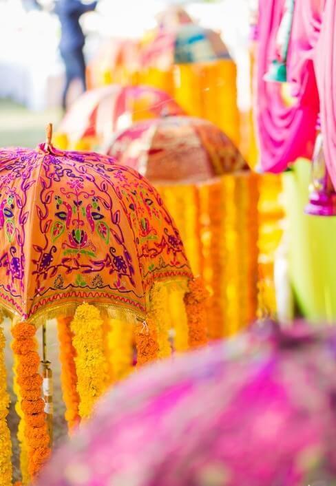 Rajasthani umbrella decor   India   Pinterest