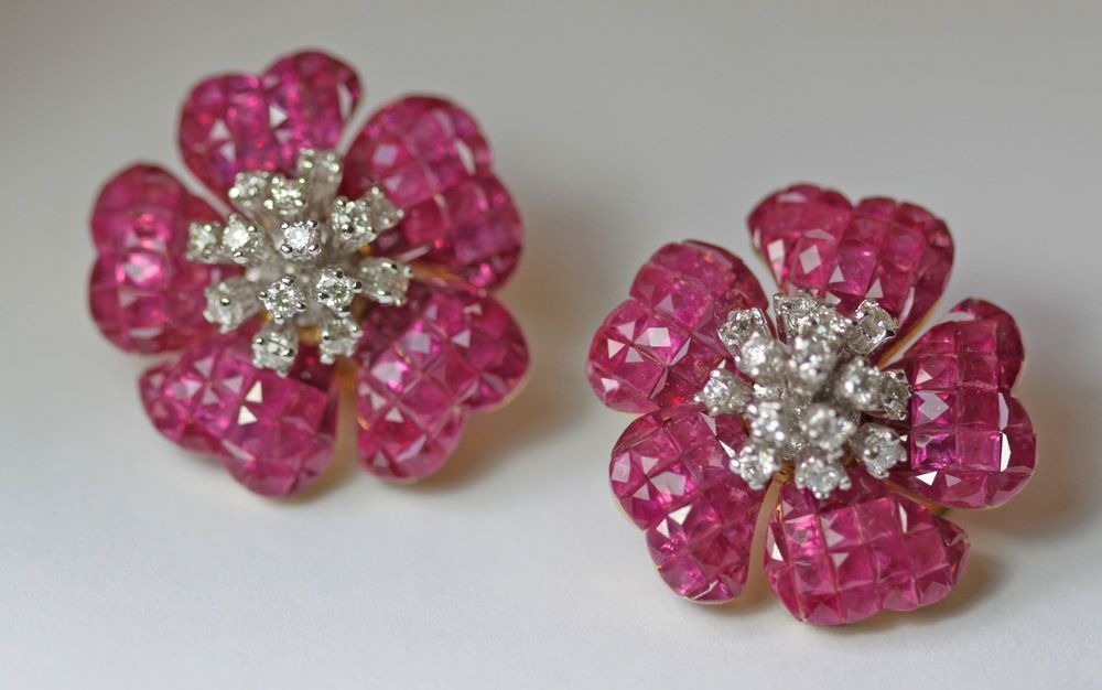 Details about magnificent 3060ct birma ruby diamond