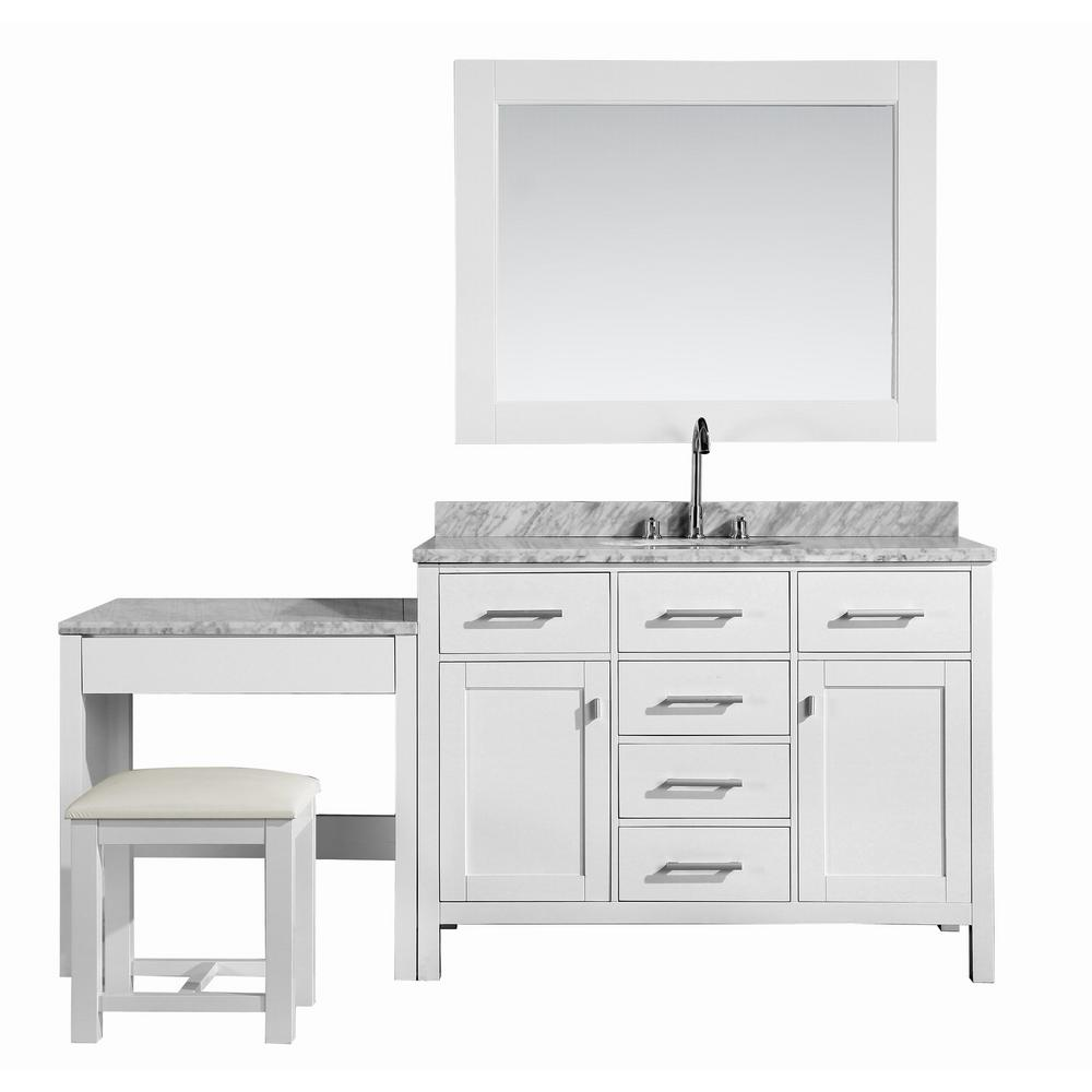 Pin On Products Bathroom vanity with makeup table