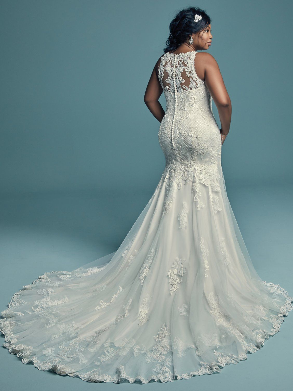 Maggie Sottero Wedding Dresses | Tulle lace, Beaded lace and Maggie ...