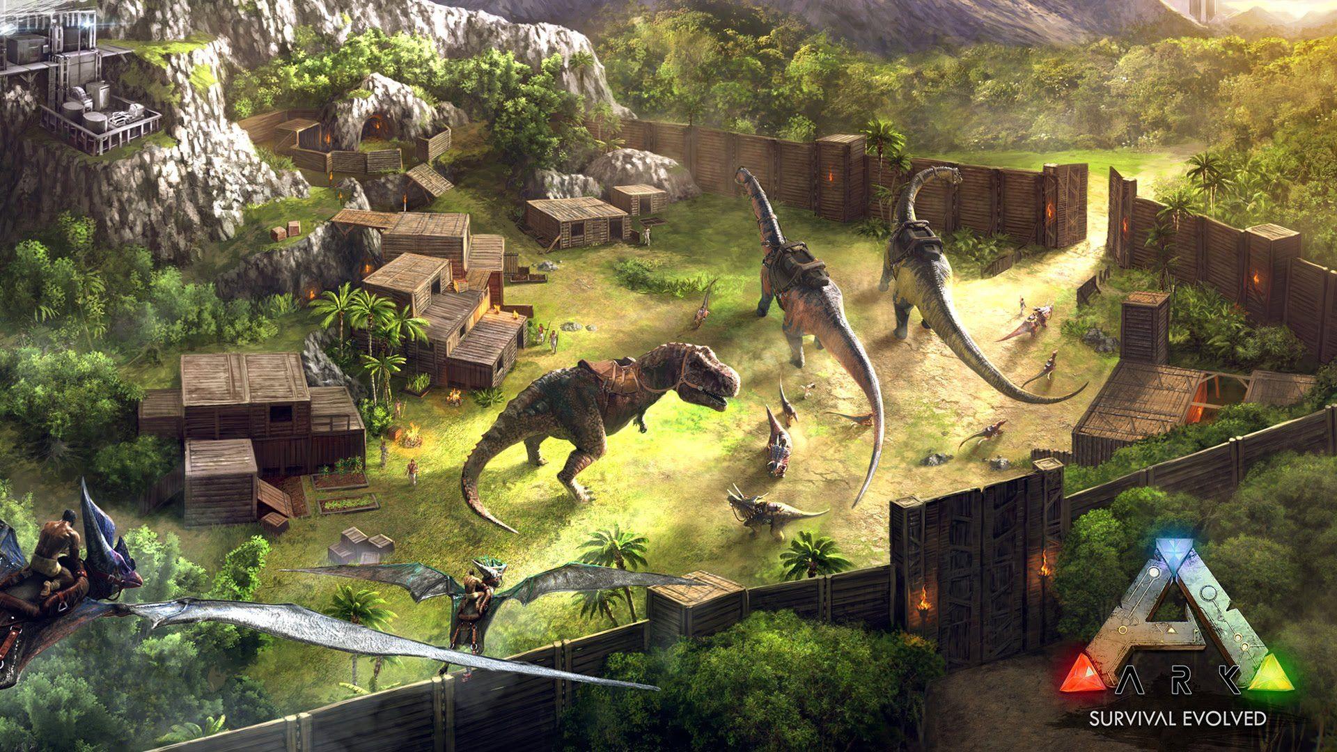Ark Survival Evolved Encore Et Encore Evolve Wallpapers Ark Survival Evolved Hd Wallpaper