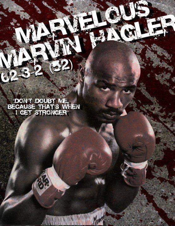 Marvelous Marvin Hagler By Beck26 Marvelous Marvin Hagler Boxing Posters Boxing Images