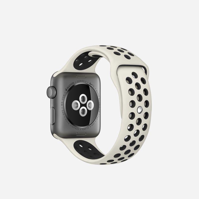 Apple Watch NikeLab Series 2 (42mm) Running Watch Cream