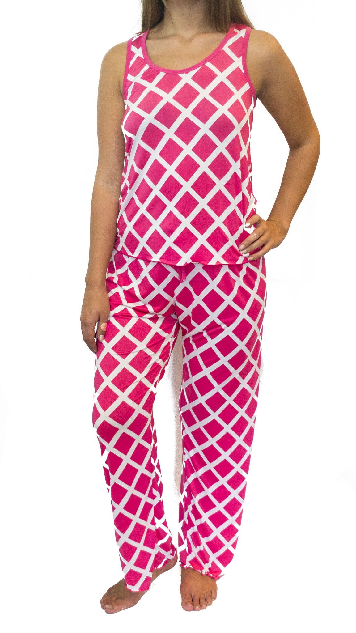 Bubblegum Diamonds Pajama Pants Set