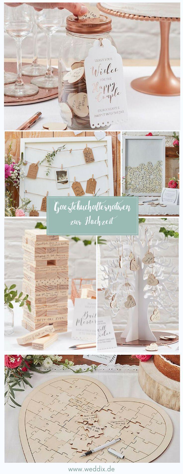 Die Schonsten Gastebuchalternativen Fur Eure Hochzeit Gastebuch
