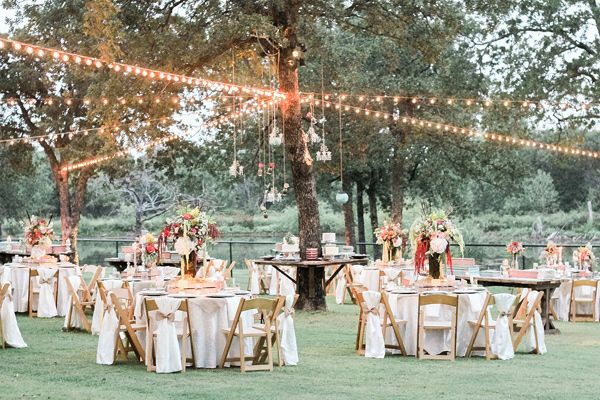 Oklahoma Garden Party Wedding Reception Garden Party Wedding