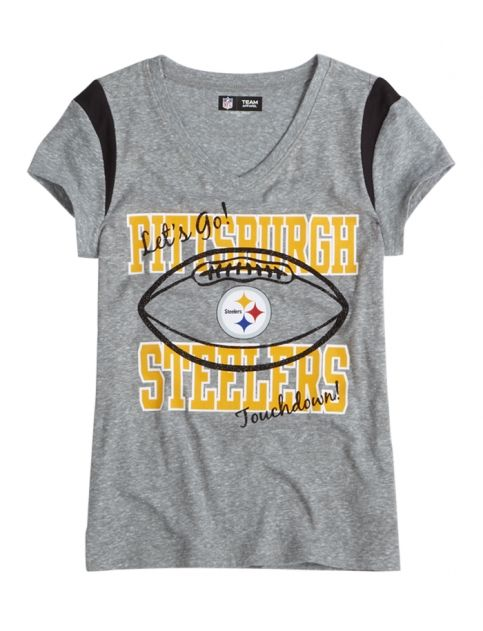 Nfl® Pittsburgh Steelers V-neck Tee  60c059c9d