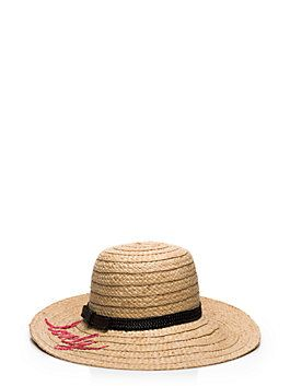 179a43ebe451f embroidered lovely sunhat by kate spade new york