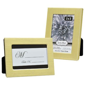 Bulk Special Moments Flat-Front Gold-Colored Metal Frames, 2.5x3.5 ...