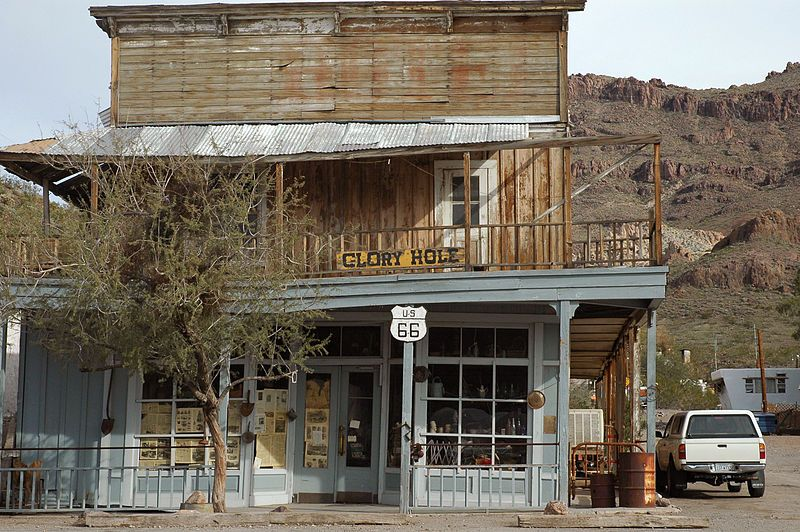 The Town of Oatman. Ghost towns, Cool places to visit