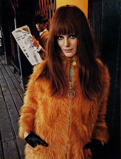 UK model Heather Taylor, inspiration for Jimi Hendrix's Foxy Lady. |  Sixties fashion, Fashion, 60s fashion