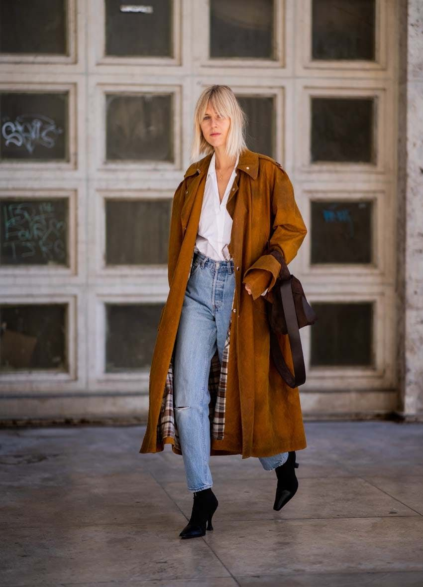 91fb0b9ed47 8 Stylish Winter Outfits to Wear With Your Favorite Straight-Leg Jeans via  Brit + Co