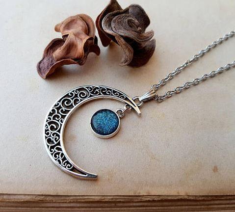 Virgo Moon Necklace
