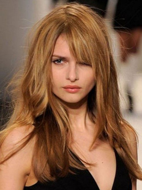 Long Hairstyles For Round Face Long Hairstyles Pinterest - Hairstyles for round face and long hair